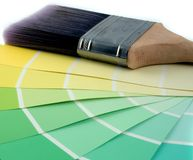 Home Improvement. Green Pastels Stock Images