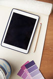 Home Improvement Application On Digital Tablet Stock Photography