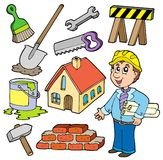 Home improvement collection. Illustration Stock Images