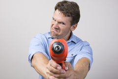 Home improvement gone bad Stock Images
