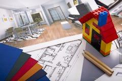 Home Improvement plan Stock Photography