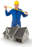 Home improvement project Royalty Free Stock Images