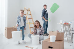 Home improvement and renewal Royalty Free Stock Images