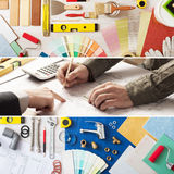 Home improvement and renovation Royalty Free Stock Photography