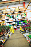 Home improvement store Stock Images