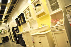 Home improvement store. Ikea, home improvement store, people who shop stock image