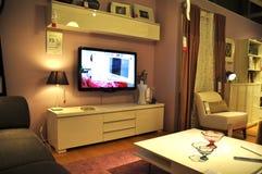 Home improvement store. Ikea, home improvement store, tv unit royalty free stock image