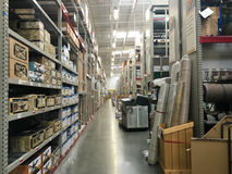 Home Improvement Warehouse Store Stock Photos
