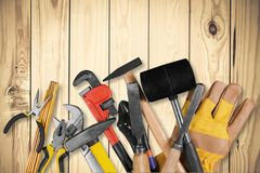 Home Improvement. Work Tool Repairing Construction Carpentry Construction Material Hammer stock images