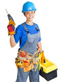 Home improvement worker Stock Image
