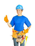 Home improvement worker Royalty Free Stock Photos