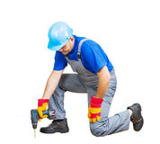 Home improvement worker Royalty Free Stock Photography