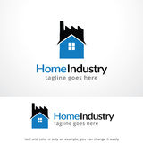 Home Industry Logo Template Design Vector, Emblem, Design Concept, Creative Symbol, Icon Stock Images