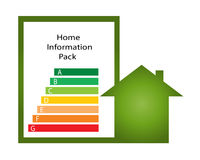 Home information pack emblem Stock Photos