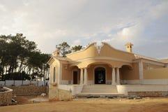 Home ingång under konstruktion Fotografering för Bildbyråer