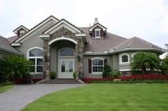 HOME inglesa da propriedade do estilo Imagem de Stock