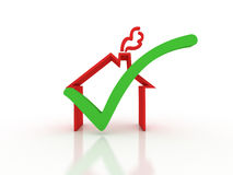 Home inspection royalty free illustration
