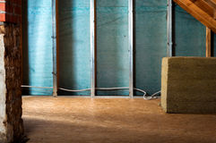 Home insulation Stock Image