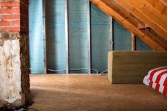 Home insulation Stock Photos