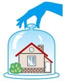 Home Insurance. Vector illustration on white background Stock Illustration