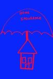 Home insurance royalty free stock photo