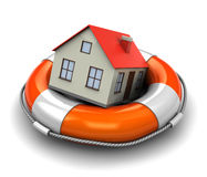 Home insurance Royalty Free Stock Images