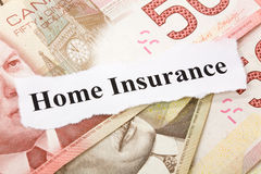 Home Insurance Stock Photo