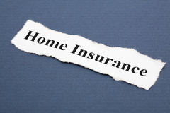 Home Insurance Royalty Free Stock Photography