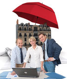 Home insurance Stock Photos