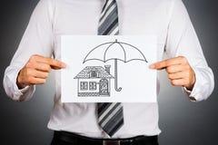 Home insurance concept. Royalty Free Stock Photos
