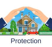 Home insurance concept. Stock Image