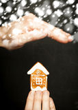 Home insurance concept Royalty Free Stock Images