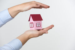 Home insurance concept Stock Photography