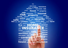 Home insurance. stock photography
