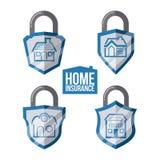 Home insurance design Stock Photos