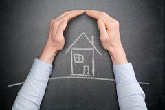 Home Insurance Royalty Free Stock Image