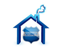 Home insurance protection Stock Images