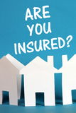 Home Insurance Stock Image