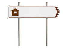 Home insurance sign Royalty Free Stock Photos