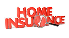 Home insurance Royalty Free Stock Photos