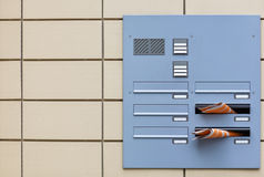 Home intercom system Stock Photos