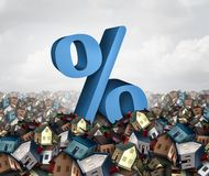 Home Interest Rates Royalty Free Stock Images