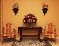 Home Interior. Living room of a modern home Royalty Free Stock Images