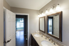 Home Interior Bathroom Royalty Free Stock Image