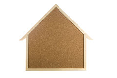 Home Interior Cork Bulletin Board Stock Photos