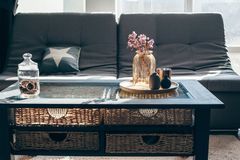 Living room decor Royalty Free Stock Images