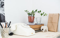 Home interior decor, vintage style Stock Photography