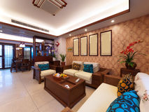 Home interior decoration Stock Images