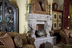 Home Interior Design Decoration royalty free stock photography