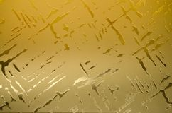 Home interior design decorative glass detail. Royalty Free Stock Photography